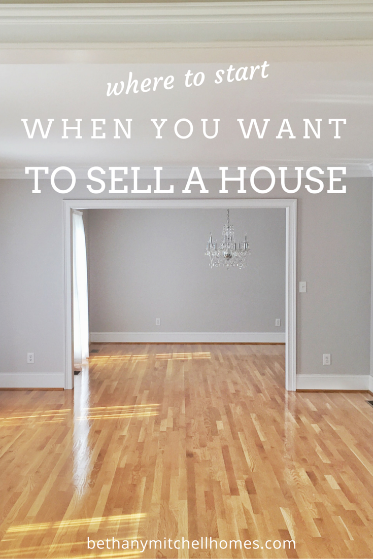 guide to selling a house