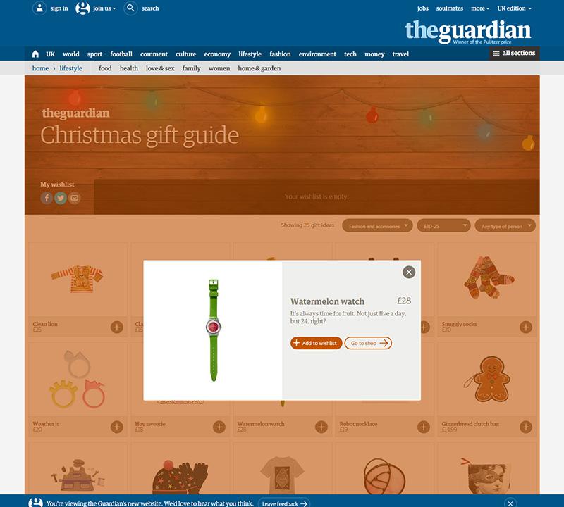 guardian gift guide