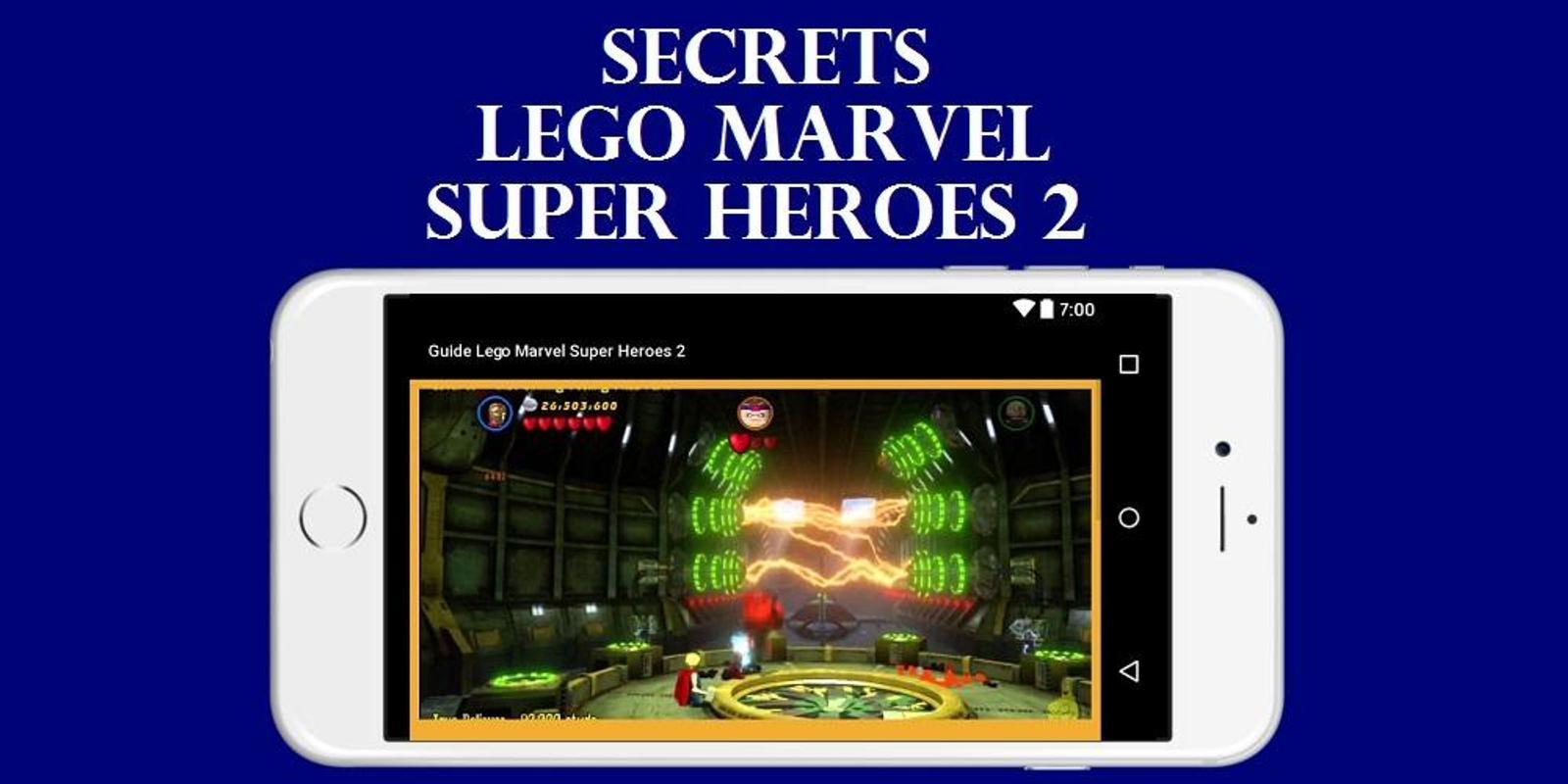 lego marvel superheroes guide