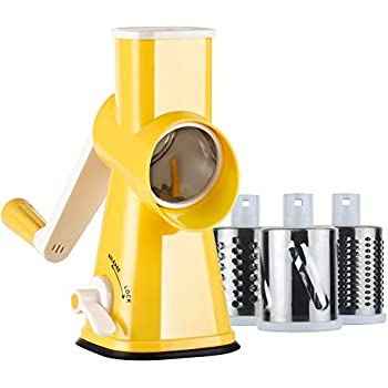 manual rotary vegetable cutter grater