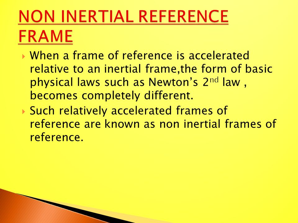 inertial frame of reference pdf