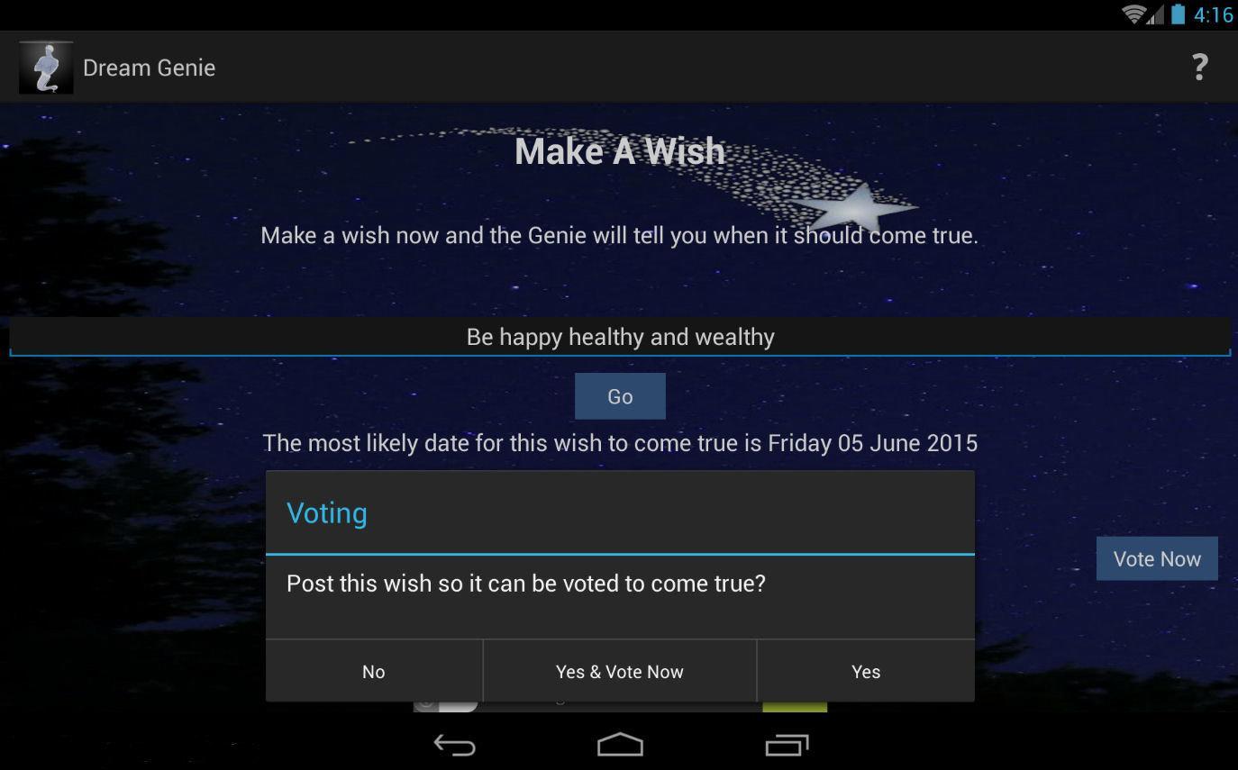 make a wish application