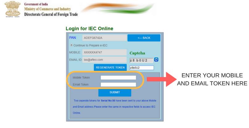 iec application status