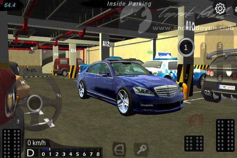 manual gearbox car parking mod apk