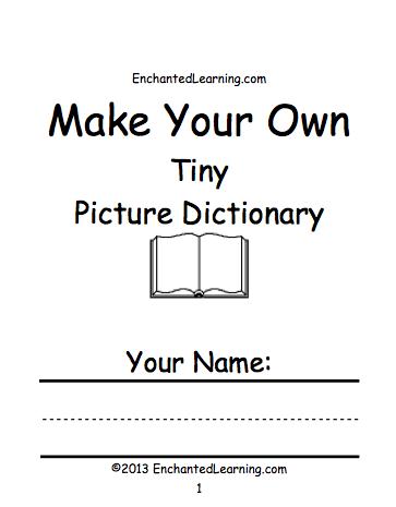 how to make a glossary