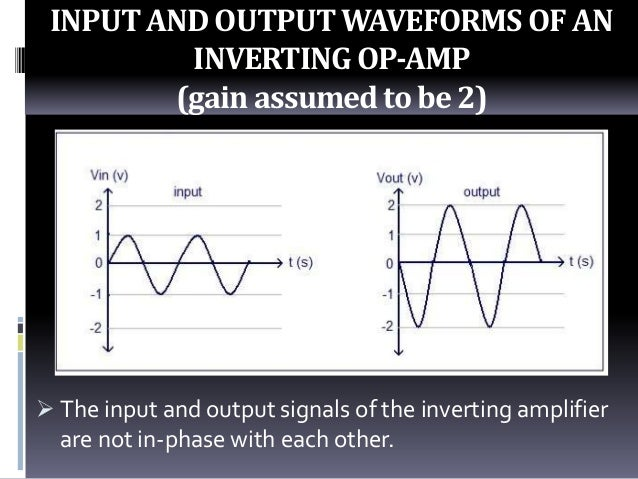 inverting and noninverting amplifier pdf