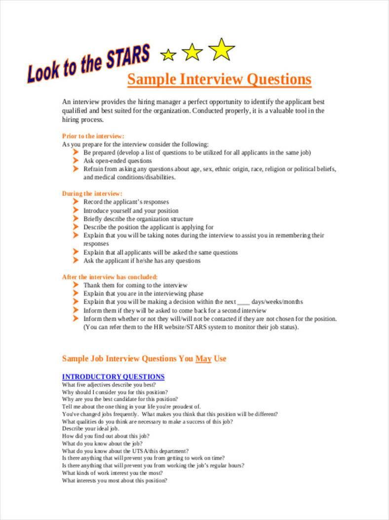 exit interview questions pdf
