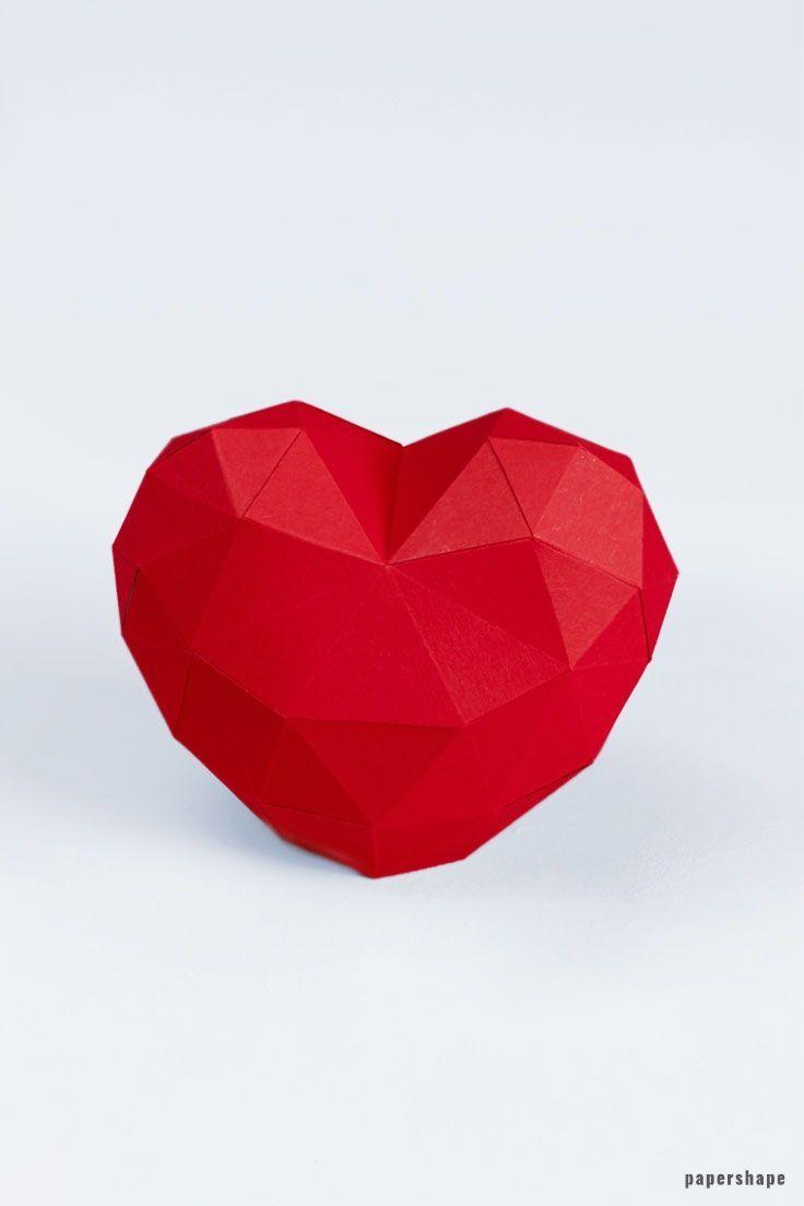gear heart papercraft pdf download