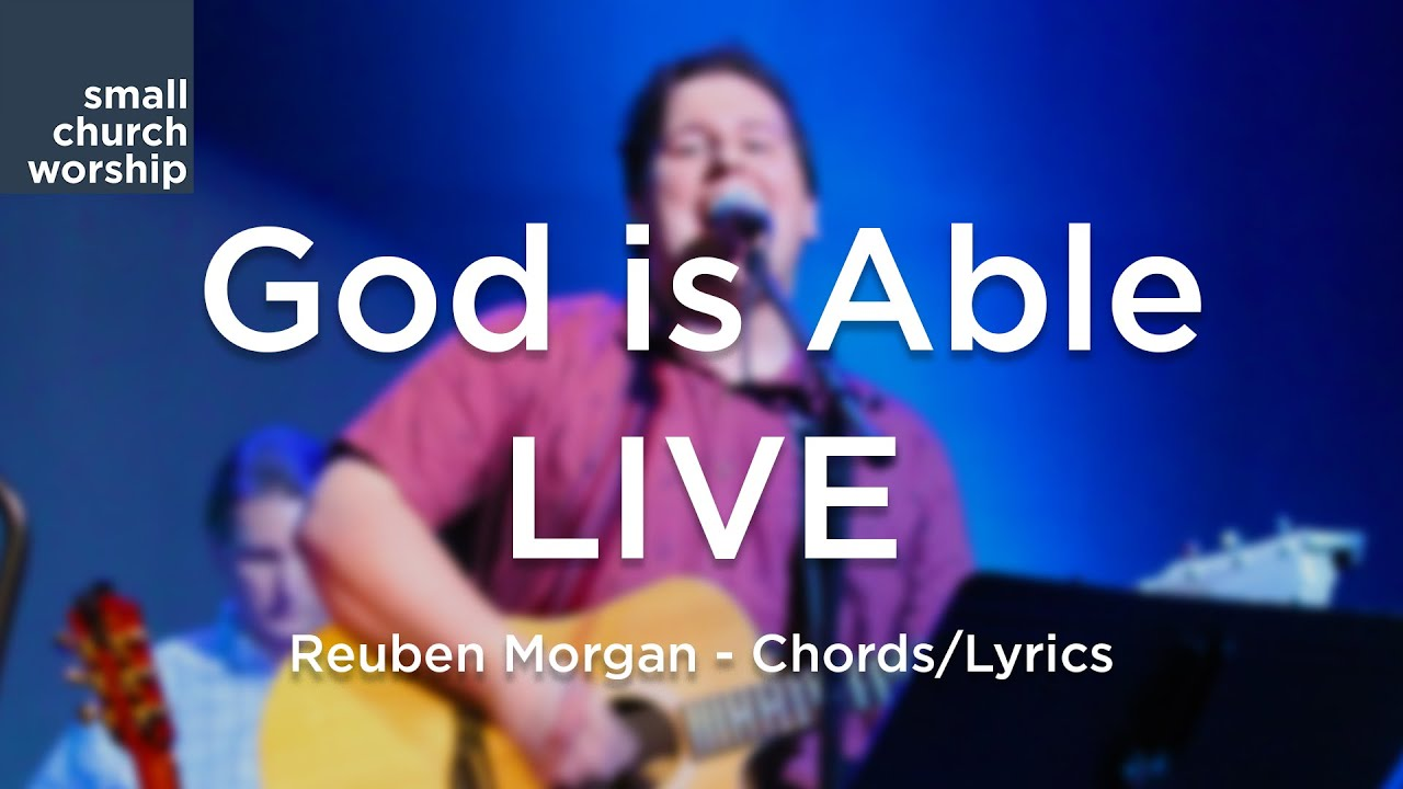 god is able chords pdf