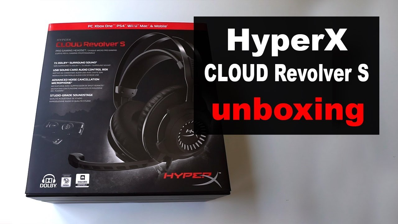 hyperx cloud revolver s pdf