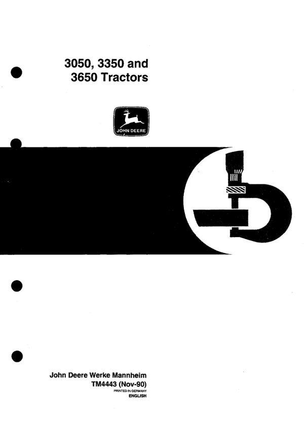 john deere 2250 workshop manual