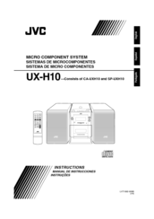 jvc ux c7 user manual